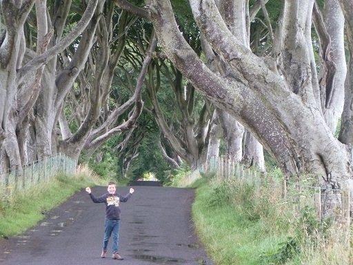 jeudi 1er aout 2013 - la pluie irlandaise dans 4- Go to Ireland dark